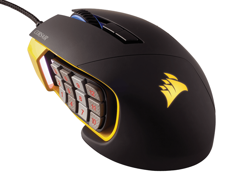 Corsair Scimitar RGB Optical MOBA/MMO Gaming Mouse (AP)
