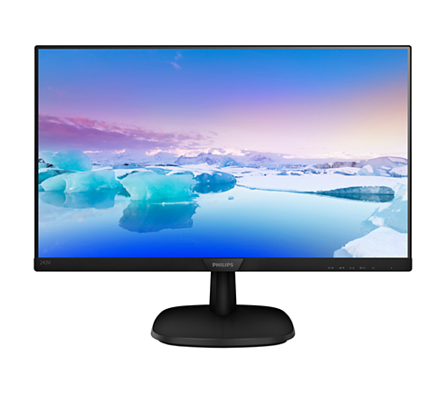 "Philips 243V7QJAB 23.8"" IPS LED Monitor"