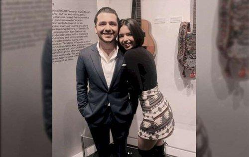Ángela Aguilar y Christian Nodal, fuertes rumores de romance