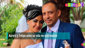 Aurora y Felipe unen su vida en matrimonio