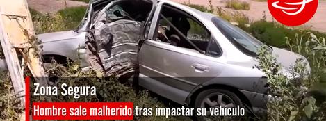 Hombre_malherido_impactar_vehículo_contra_poste_CFE