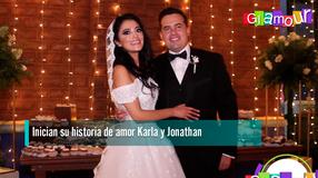 Inician su historia de amor Karla y Jonathan