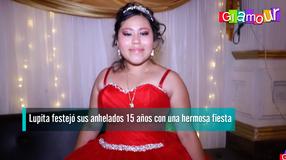 Lupita festejó sus anhelados 15 años con una hermosa fiesta