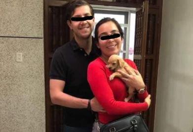 Se busca a pareja que adopta cachorritos para alimentar a serpientes