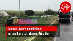 Mueren jóvenes chambelanes en accidente carretero en Fresnillo