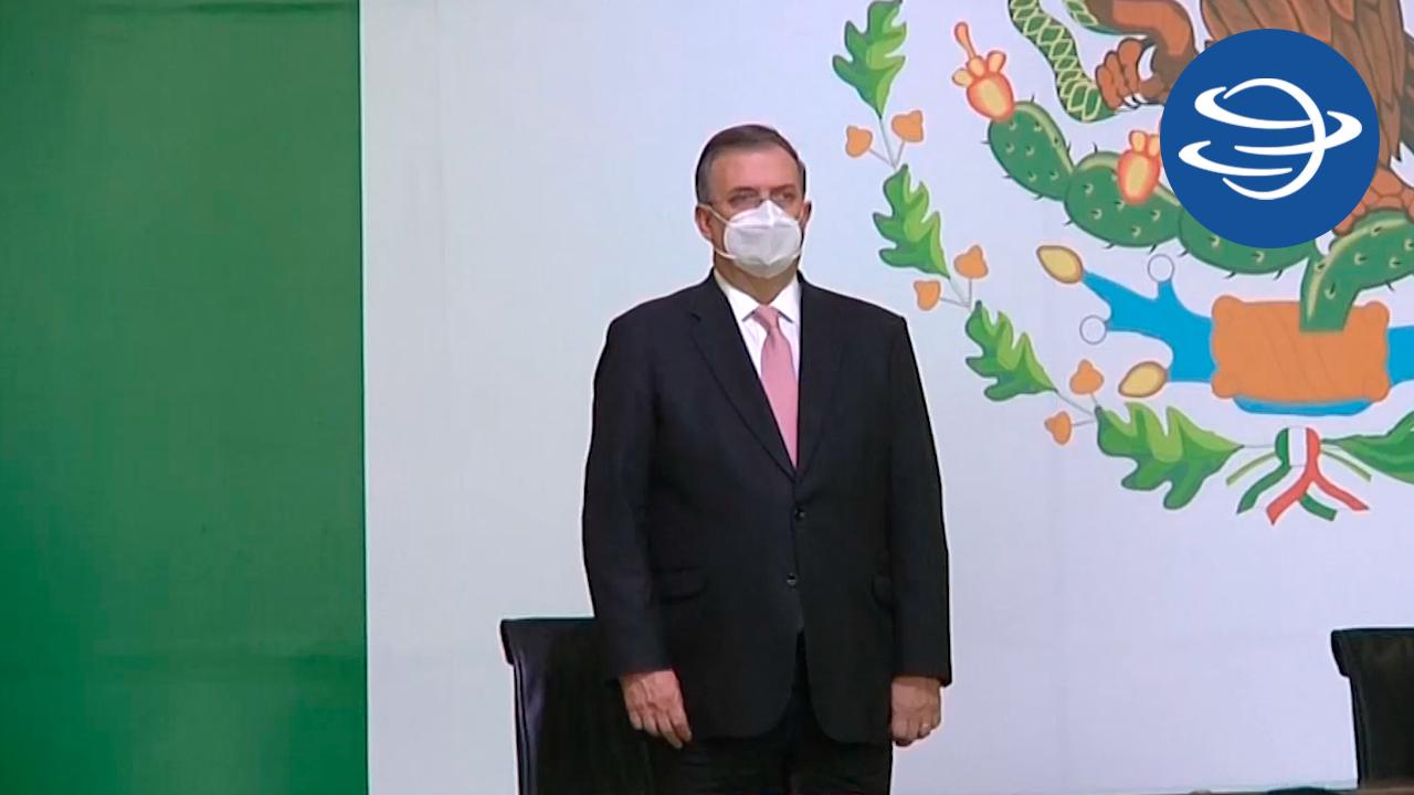 Para Marcelo Ebrard, el tema migratorio no será su prioridad con el nuevo embajador Ken Salazar