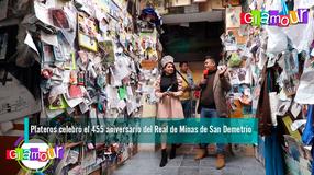 Plateros celebró el 455 aniversario del Real de Minas de San Demetrio