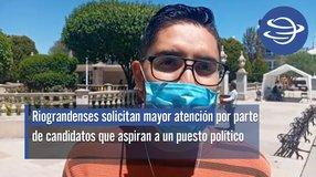 Río Grande | Riograndenses solicitan mayor atención por parte de candidatos que aspiran a un puesto político