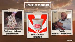 Programa 22; Zacatecas Cuenta