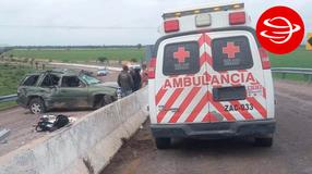 Tragedia en Cañitas: Muere mujer en accidente carretero