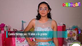 Camila festeja sus 15 años a lo grande