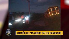 Camión de pasajeros queda varado Salida a Durango