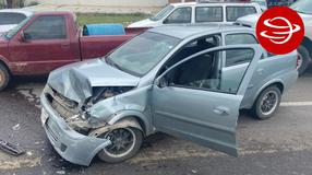 Hombre alcoholizado choca sobre carretera salida a Durango