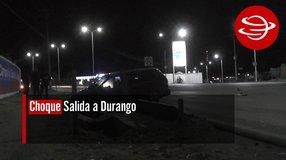 Choque Salida a Durango