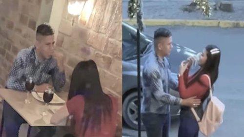 ¡Sorprendente! Hombre tiene cita con dos chicas al mismo tiempo el 14 de Febrero
