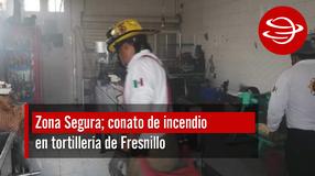 Conato de incendio en tortillería de Fresnillo