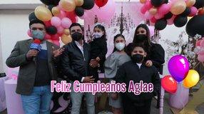 Hermosa fiesta de cumpleaños para Aglae
