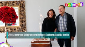 ¡Fiesta sorpresa! Celebran cumpleaños de la Licenciada Lidia Bonilla