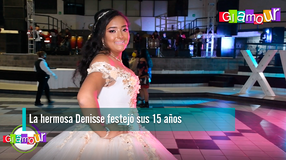 La hermosa Denisse festejó sus 15 años
