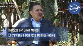 Diálogos con Silvia Montes; José Bonilla Robles