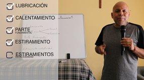 Los Remedios Caseros con Martín Vera; Partes de un entrenamiento
