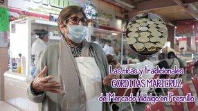Las ricas y tradicionales GORDITAS MARICRUZ del Mercado Hidalgo en Fresnillo