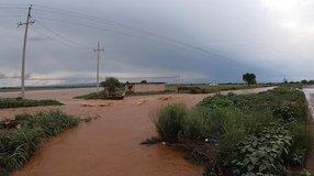 Estragos tras fuertes precipitaciones en El Pardillo Segundo