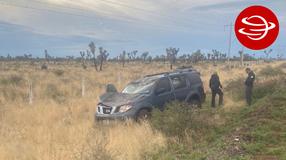 Localizan camioneta abandonada involucrada en accidente