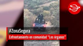 """Enfrentamiento en comunidad """"Los órganos"""""""