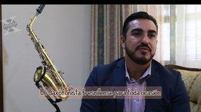 Oscar Vanegas; Un Saxofonista fresnillense para toda ocasión