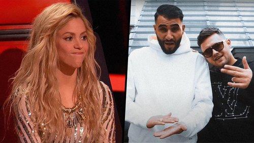 Shakira demanda a dos raperos que la ofenden