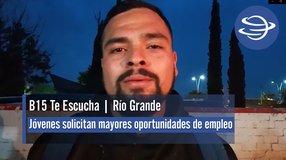 Río Grande | Jóvenes solicitan mayores oportunidades de empleo