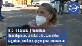Guadalupe | Solicitan a los candidatos seguridad, empleo y apoyos para tercera edad