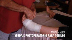 Los Remedios Caseros con Martín Vera; Vendaje Postoperatorio para Tobillo