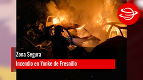 Incendio en Yonke de Fresnillo