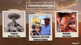 Programa 25; Zacatecas Cuenta