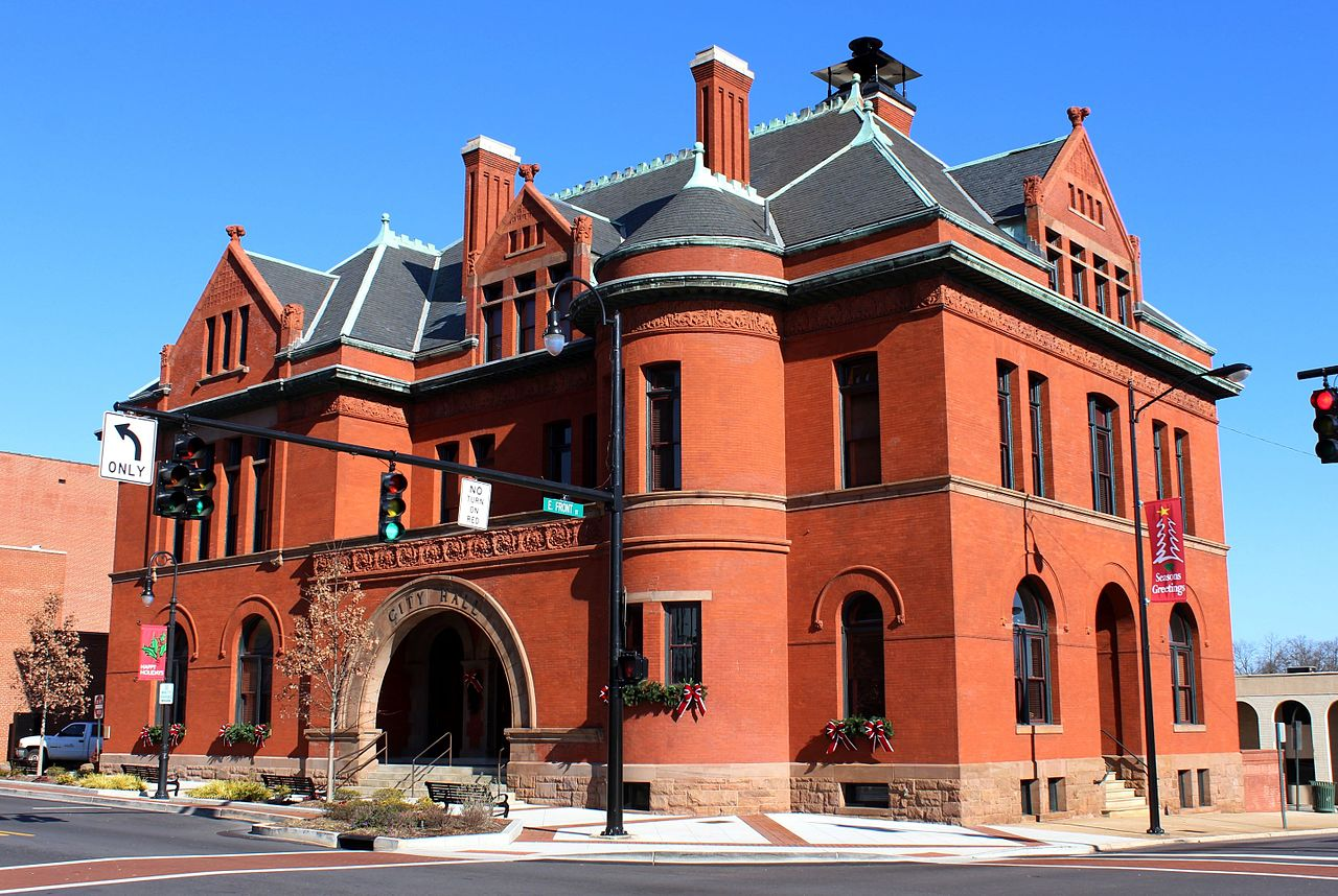 Statesville City Hall Building c. 1890-92, North Carolina