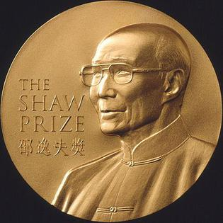 Shaw Prize Medal