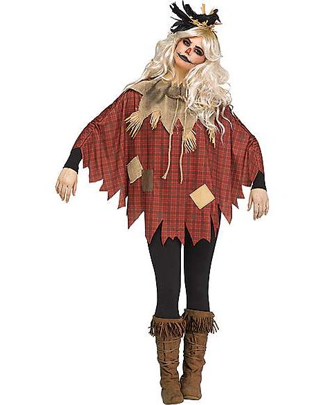 Plaid Scarecrows costume available at Spirit Halloween