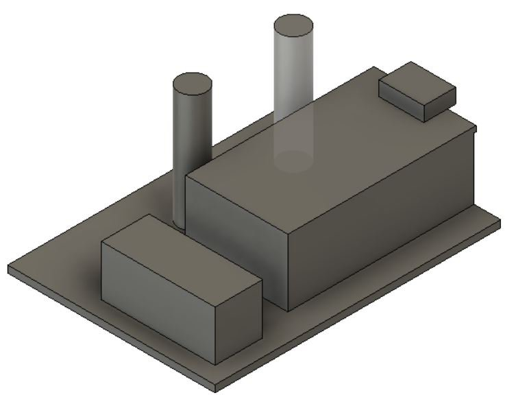 Model of prototype device