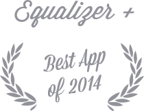 Equalizer+ Best App of 2014 Play Store