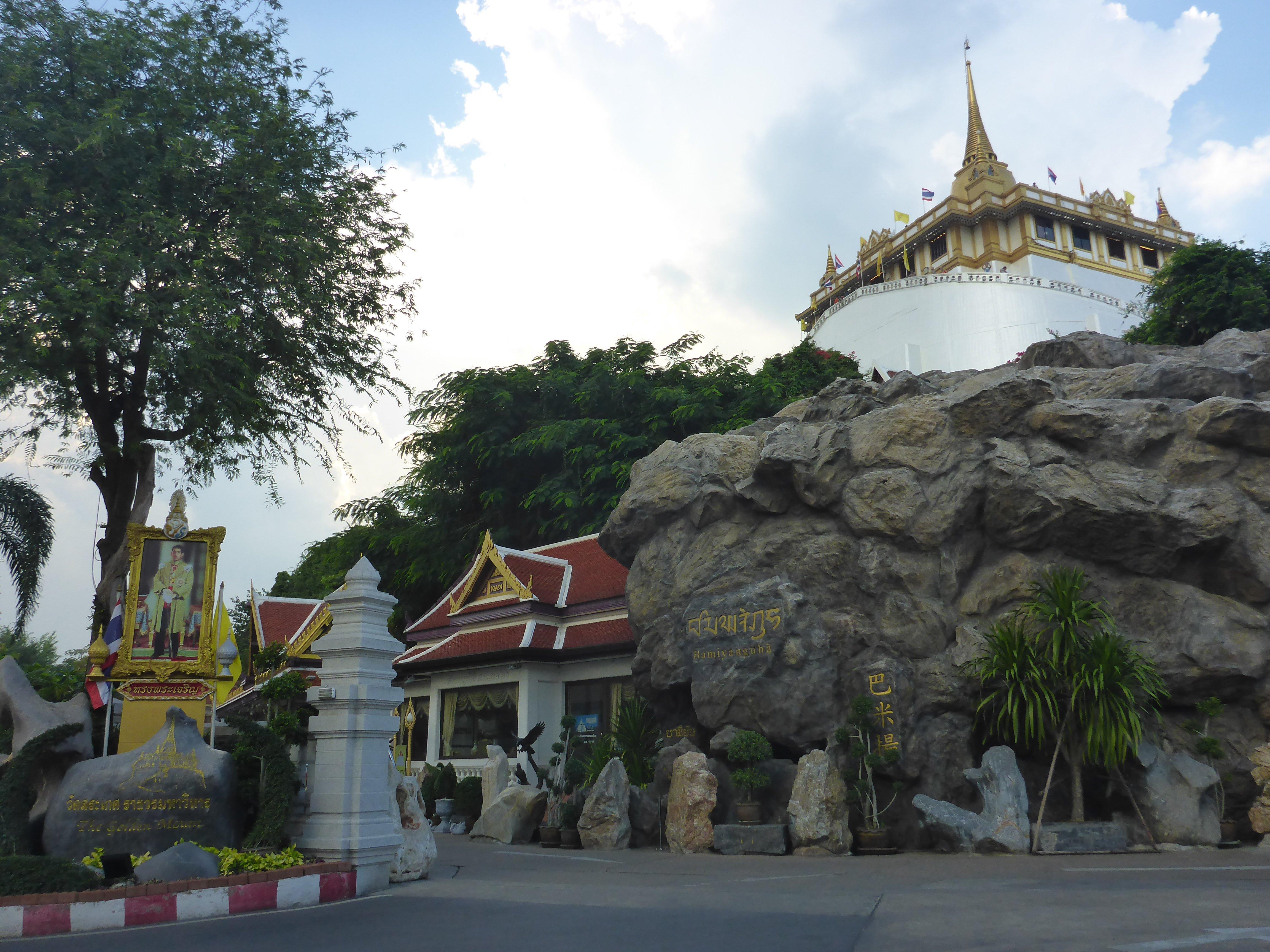 Golden Mountain tempel Bangkok