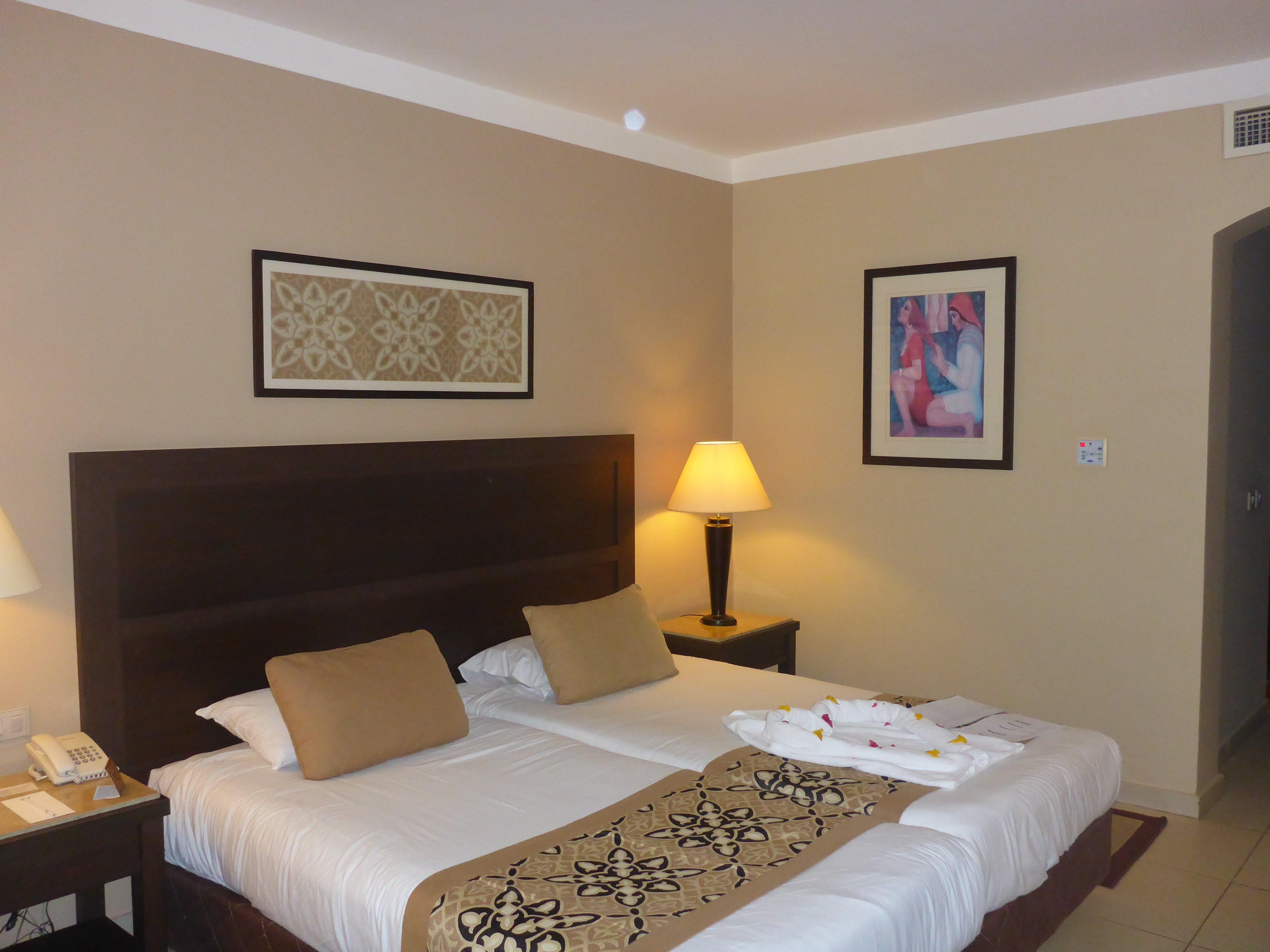Onze hotelkamer in Jaz Dar El Madina