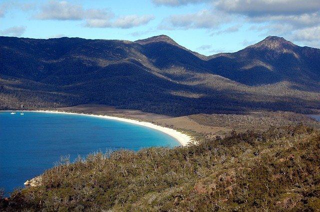 10 mooiste stranden van Australië - Wineglass Bay