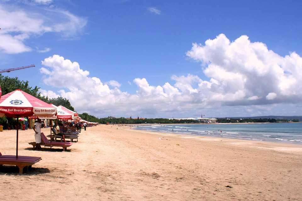 vakantie in bali, kuta beach