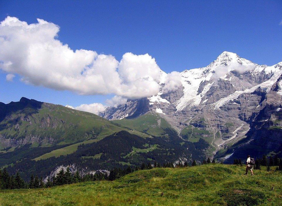 Murren, alpendorpje in Zwitserland
