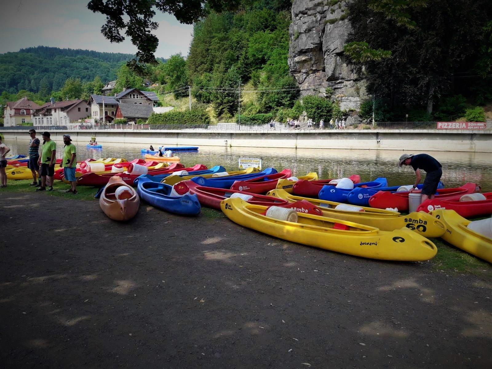 Kayakken in Tsjechië
