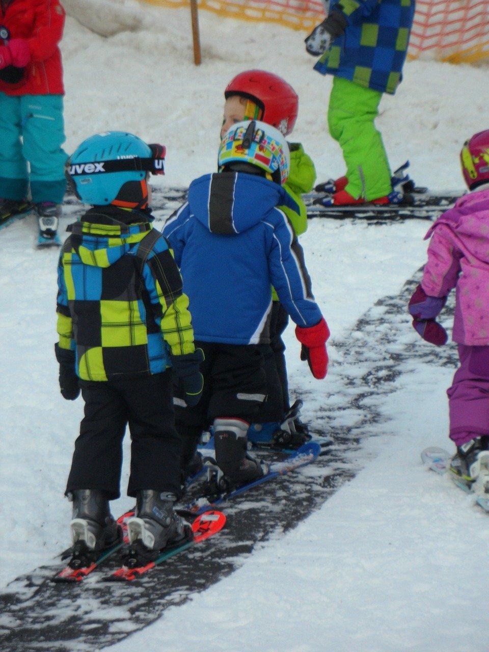 Zorg voor een goede ski uitrusting voor je kids