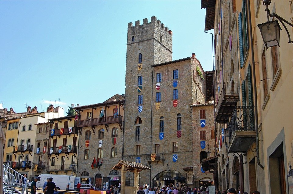 Arezzo in Toscane