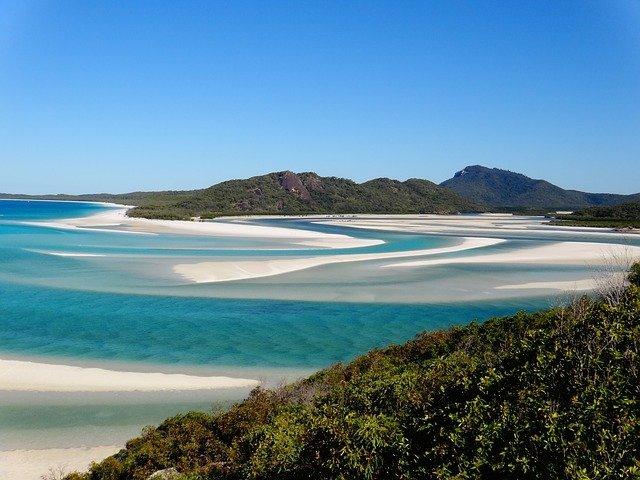 De mooiste stranden van Australië - Whitehaven Beach